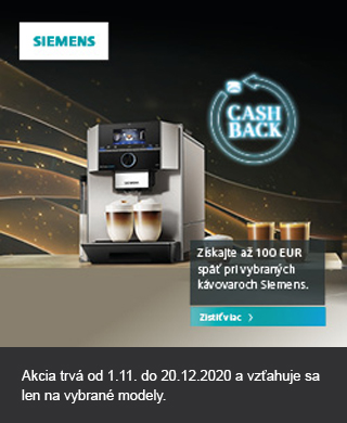 Siemens CashBack kavovary