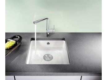 Blanco Subline 375-U keramika + Sifón s odbočkou na umývačku ZADARMO