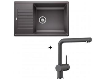 Set Blanco Zia XL 6 S Compact + Blanco Linus-S so sprškou