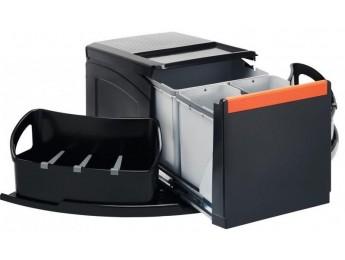 Franke sorter Cube rohový 1x18l, 2x8l