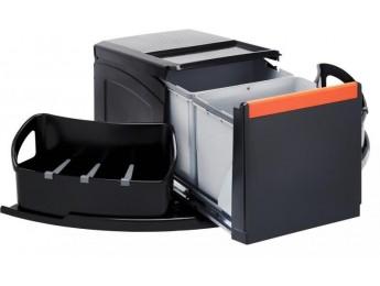 Franke sorter Cube rohový 2x18l